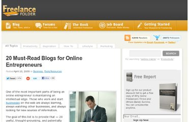 http://freelancefolder.com/20-must-read-blogs-for-online-entrepreneurs/