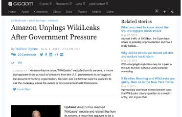 http://gigaom.com/2010/12/01/amazon-unplugs-wikileaks-after-government-pressure/
