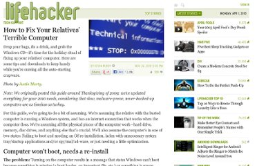 http://lifehacker.com/5413223/how-to-fix-your-relatives-terrible-computer