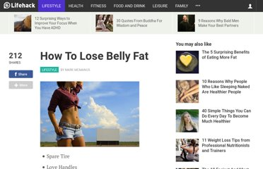 http://www.lifehack.org/articles/lifestyle/how-to-lose-belly-fat.html