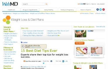 http://www.webmd.com/diet/features/15-best-diet-tips-ever?page=1