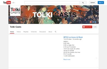 http://www.youtube.com/user/mrtolkien