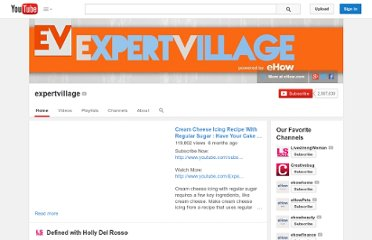 http://www.youtube.com/user/expertvillage