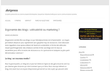 http://dotpress.fr/ergonomie-des-blogs-utilisabilite-ou-marketing