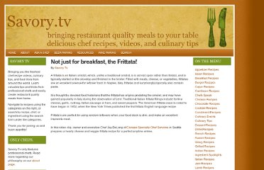http://www.savory.tv/2008/10/11/not-just-for-breakfast-the-frittata/