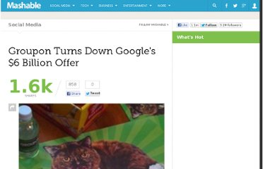 http://mashable.com/2010/12/03/groupon-google-no/