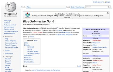 http://en.wikipedia.org/wiki/Blue_Submarine_No._6