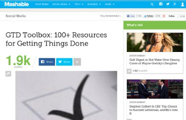 http://mashable.com/2009/01/29/getting-things-done/
