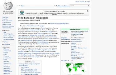 http://en.wikipedia.org/wiki/Indo-European_languages