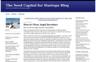 http://smartstartup.typepad.com/my_weblog/2009/02/how-to-close-angel-investors.html