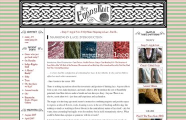 http://www.eunnyjang.com/knit/2006/03/majoring_in_lace_introduction_1.html