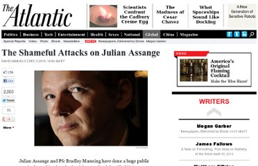 http://www.theatlantic.com/international/archive/2010/12/the-shameful-attacks-on-julian-assange/67440/