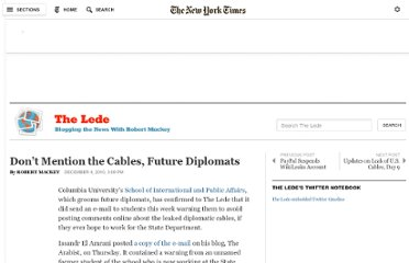http://thelede.blogs.nytimes.com/2010/12/04/dont-mention-the-cables-future-diplomats/