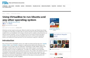 http://www.freesoftwaremagazine.com/articles/using_virtualbox_to_run_ubuntu