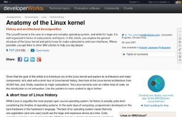http://www.ibm.com/developerworks/linux/library/l-linux-kernel/index.html?ca=drs-