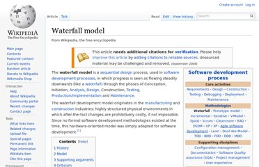 http://en.wikipedia.org/wiki/Waterfall_model