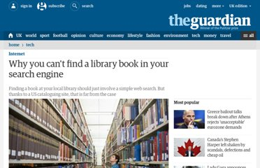 http://www.guardian.co.uk/technology/2009/jan/22/library-search-engines-books