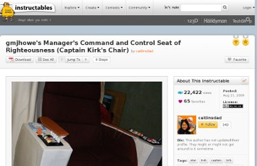 http://www.instructables.com/id/gmjhowes-Managers-Command-and-Control-Seat-of-Ri/