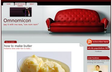 http://www.omnomicon.com/how-to-make-butter