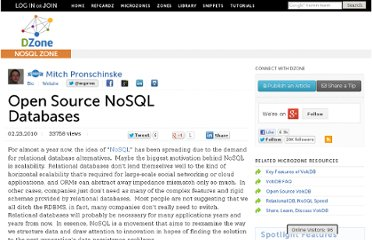 http://java.dzone.com/articles/open-source-nosql-databases