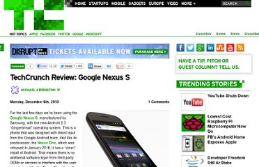 http://techcrunch.com/2010/12/06/google-nexus-s-review/