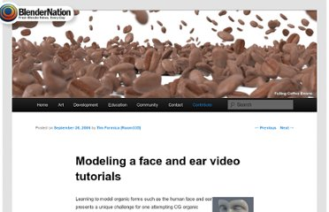http://www.blendernation.com/2006/09/26/modeling-a-face-and-ear-video-tutorials/#more-1310
