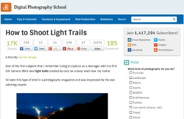http://digital-photography-school.com/how-to-shoot-light-trails