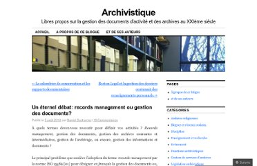 http://archivistique.wordpress.com/2010/08/05/un-eternel-debat-records-management-ou-gestion-des-documents/