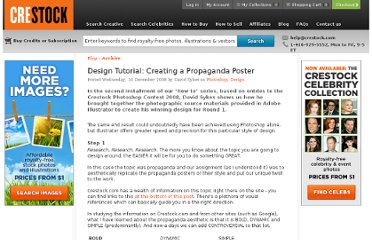 http://www.crestock.com/blog/photoshop/design-tutorial-creating-a-propaganda-poster-153.aspx