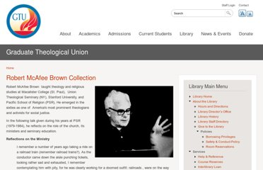 http://www.gtu.edu/library/special-collections/archives/featured-collections-1/robert-mcafee-brown-collection