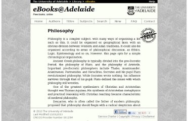 http://ebooks.adelaide.edu.au/themes/phil.html
