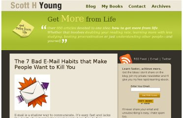 http://www.scotthyoung.com/blog/2007/10/23/the-7-bad-e-mail-habits-that-make-people-want-to-kill-you/