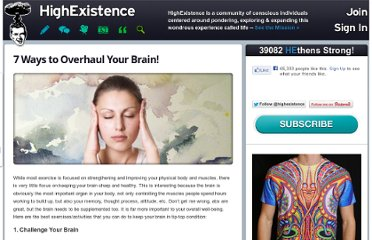 http://www.highexistence.com/overhaul-your-brain/