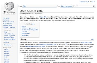 http://en.wikipedia.org/wiki/Open_science_data