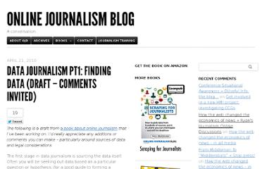 http://onlinejournalismblog.com/2010/04/21/data-journalism-pt1-finding-data-draft-comments-invited/#comment-178621