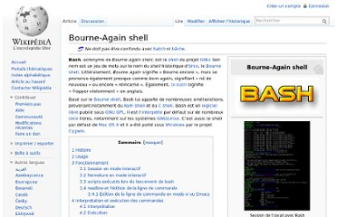 http://fr.wikipedia.org/wiki/Bourne-Again_shell
