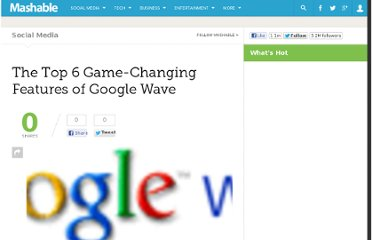 http://mashable.com/2009/05/31/google-wave-features/