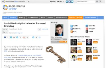 http://socialmediatoday.com/mike-johansson/208539/social-media-optimization-personal-branding