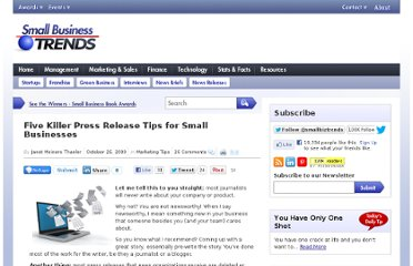 http://smallbiztrends.com/2009/10/five-killer-press-release-tips-for-small-businesses.html