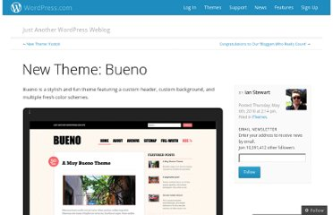 http://en.blog.wordpress.com/2010/05/06/new-theme-bueno/