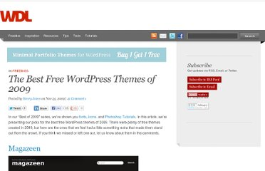 http://webdesignledger.com/freebies/the-best-free-wordpress-themes-of-2009