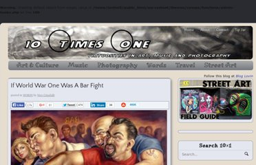 http://www.tentimesone.com/if-world-war-one-was-a-bar-fight/