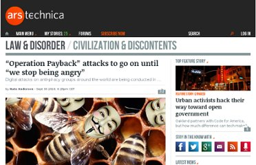 http://arstechnica.com/tech-policy/news/2010/09/operation-payback-attacks-continue-until-we-stop-being-angry.ars