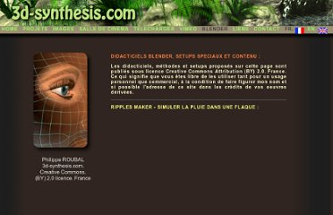 http://3d-synthesis.com/tutorialsfrench.html