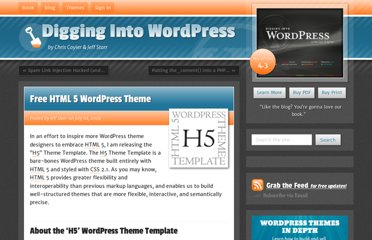 http://digwp.com/2009/07/free-html-5-wordpress-theme/