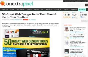 http://www.onextrapixel.com/2010/12/02/50-great-web-design-tools-that-should-be-in-your-toolbox/
