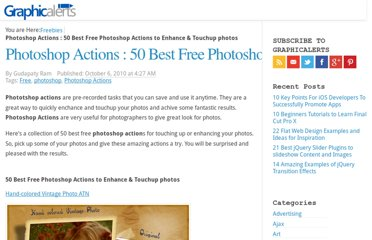 http://graphicalerts.com/50-best-free-photoshop-actions-to-enhance-touchup-photos/