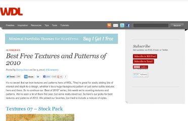 http://webdesignledger.com/freebies/best-free-textures-and-patterns-of-2010