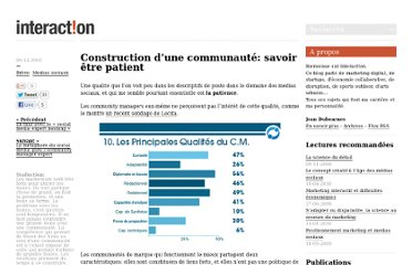 http://www.blog-interaction.fr/breves/construction-dune-communaute-savoir-etre-patient/