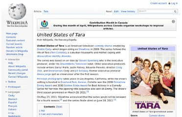 http://en.wikipedia.org/wiki/United_States_of_Tara